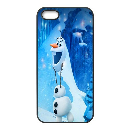 iPhone 5S Coque, Frozen Olaf Series Apple iPhone 5s Housse etui coque case cover Coque en silicone skin Housse Coque Shell de protection pour iPhone 55S