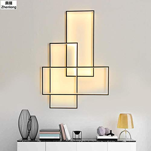 Wandlampe Fernbedienung moderne LED-Beleuchtung Küche Bad dimmbar @ 100x500x60CM-100W_Remote Control -