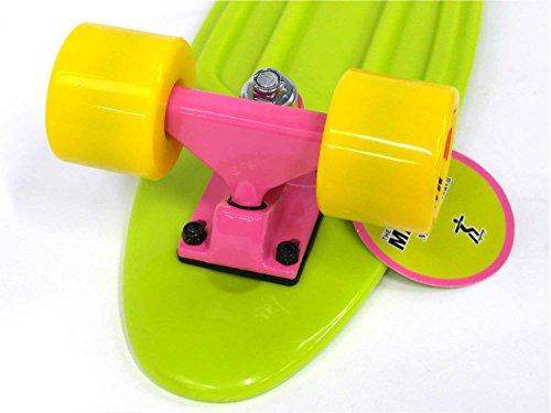 MAXOfit Skateboard Mini Cruiser Retro, 63756