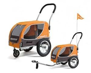 CROOZER Mini Vélo Remorque velo chien