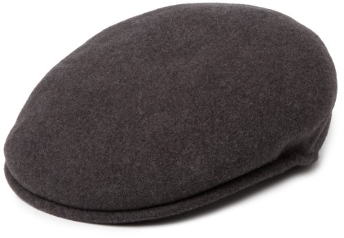 Kangol Wool 504 Casquette Souple, Gris (Dark Flannel), (Taille Fabricant: X-Large) Mixte