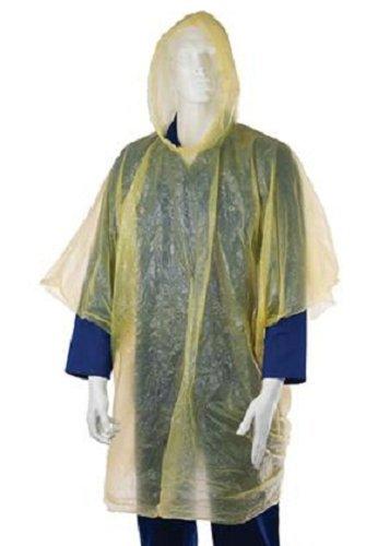 Preisvergleich Produktbild 5 x Poncho Jacke Mantel Regenponcho Regencape Regen Nässe Wasser Wasserdicht