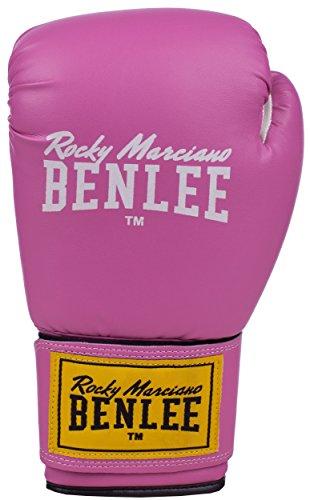 BenLee Rocky Marciano Unisex Training Gloves RODNEY Pink/White 14
