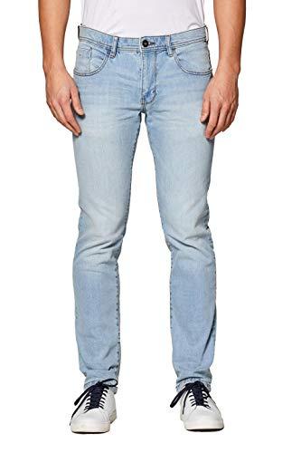 edc by ESPRIT Herren 029Cc2B004 Slim Jeans, Blau (Blue Light Wash 903), W36/L32 (Herstellergröße: 36/32)