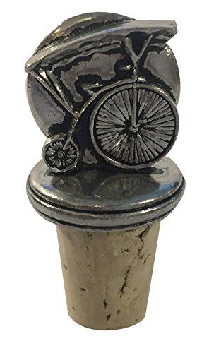 Der Gefangene 'bekannt als 6' Solid Zinn Flasche Stopper/Wein Kork (Zinn-wein-flasche)