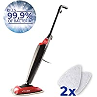 Vileda Steam Mop (UK Version), Kills 99.9% of Bacteria Without Cleaning Chemicals