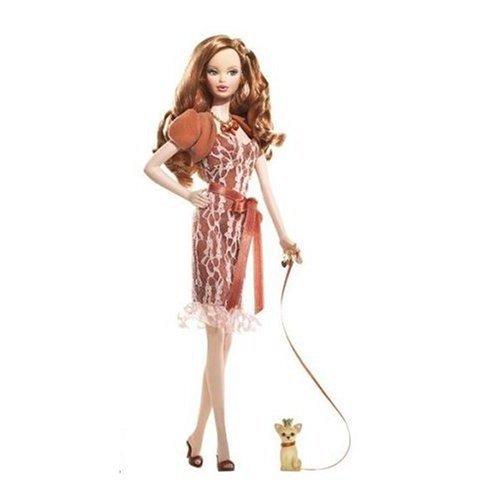 Mattel Barbie K8700 Miss Topaz Barbie Doll; Birthstone Beauties Pink Label Collection -