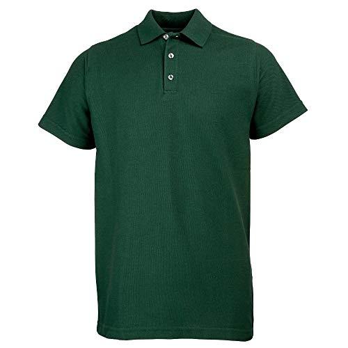 RTY - Polycotton Piqué Poloshirt - bis 10XL / Bottle Green, M