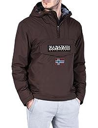 Amazon.it  Marrone - Giacche e cappotti   Uomo  Abbigliamento 7826365c144