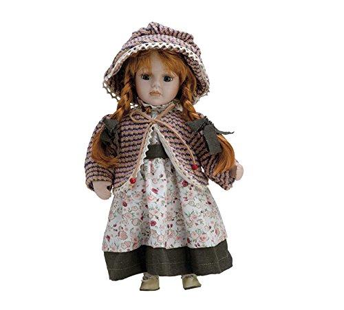 Muñeca de Porcelana de 30 cms con soporte. VICTORIA - BAM018