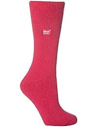Heat Holders - Epaisse hiver chaude thermiques chaussettes femme fantaisie en 10 couleurs, taille 37-42 eur