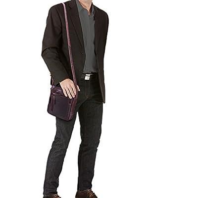 STILORD 'Jamie' Sacoche Cuir Homme Bandoulière petit Vintage Sac à Bandoulière pour 9.7 pouces iPad Tablette PC Sac Messager en Cuir véritable