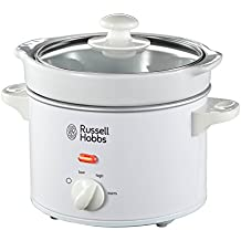 Russell Hobbs Compact Slow Cooker 22730, 2 L - White