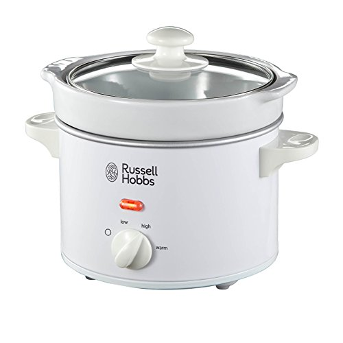 Russell Hobbs 22730 Compact Slow Cooker, 2 L - White by Russell Hobbs