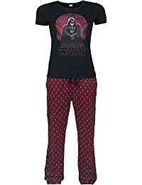 Star Wars Rogue One - Darth Vader Death Star Pyjama schwarz/rot