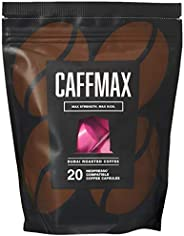 Coffee Planet CAFFMAX Nespresso Compatible Capsules, 20 x 5 g