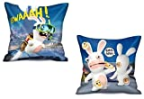 ELI Raving Rabbids Kissen II (2 Motive) [35x35 cm]