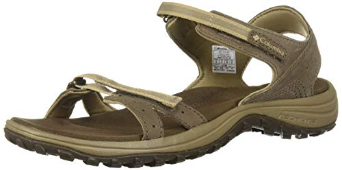 Columbia SantiamTM, Sandali da Donna, Marrone (Mud, Sandy Tan 256), 40 EU