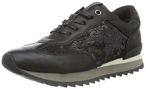 separation shoes a4a1a d9594 Marco Tozzi Premio 2-2-23702-37, Zapatillas para Mujer, Negro (Black  Ant.Comb 096), 37 EU