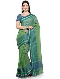 Saree Mall Women's Linen Silk Saree With Blouse Piece (sarees New Collection 2017_2LNN221)