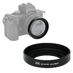 JJC Gegenlichtblende für Nikon Z50 Kamera + Nikkor Z DX 16-50 F/3.5-6.3 VR Objektiv ersetzt Nikon HN-40
