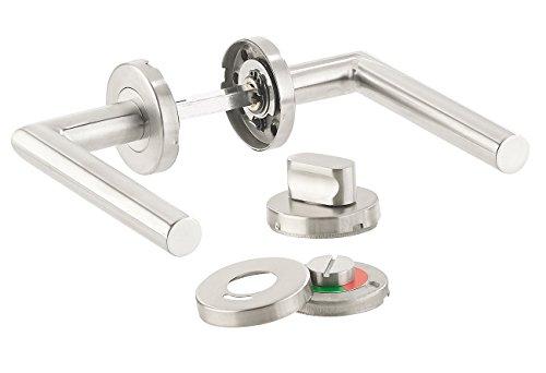 WC-Türgarnitur  <strong>Form Schild</strong>   Abgerundet