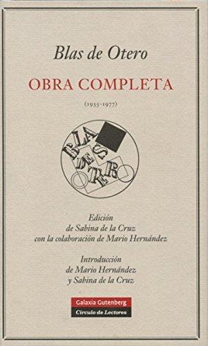 Obra Completa Blas De Otero (POESÍA)