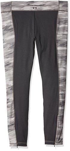 Under Armour Damen Hose UA Perfect Zip Leggings Print, Steeple Gray Hand Painted Camo/Metallic Pewter, XL - 2