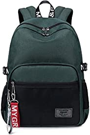 Classic Backpack Haversack Travel School Bag Student Simple Daypack Bookbag by Mygreen