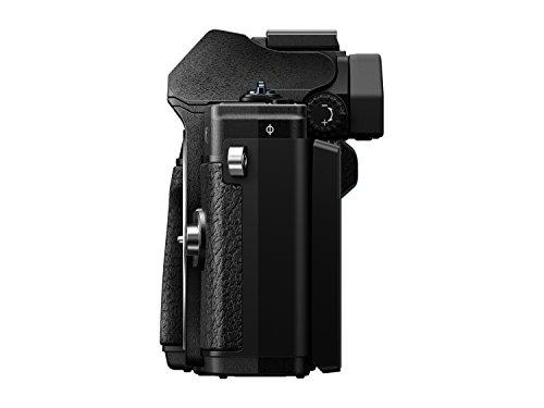 Olympus OM-D E-M10 Mark III Systemkamera (16 Megapixel, 5-Achsen VCM Bildstabilisator, elektronischer Sucher mit 2,36 Mio. OLED, 4k Video, WLAN) Kit silber inkl. 14-42mm Objektiv silber + M.Zuiko Digital ED 40-150 mm Objektiv schwarz - 6