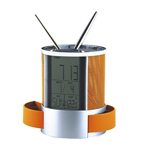Calendario Mesh matita tazza ufficio creativo regali orologio elettronico Data, 2