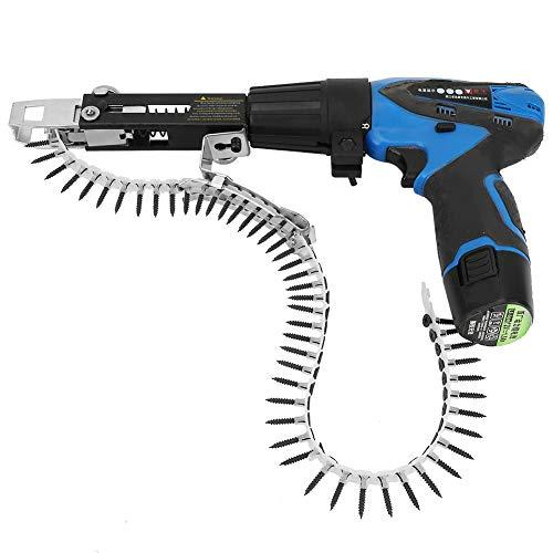 3pcs Woodwork Automatic Nail Adapter Elektro-Akku-Tacker mit integriertem Lithium-Ionen-Akku Elektro-Nagelhefter Set