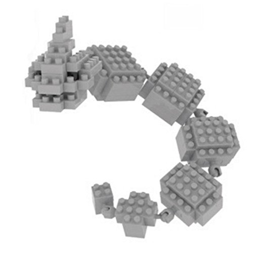 Pokemon Onix. Figura para armar con minibloques. 135 bloques en miniatura.