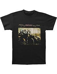 Neil Young Crazy Horse del hombre, camiseta Negro
