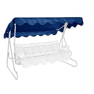 Angerer 805/04 – Parasol para balancín, color azul