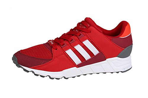 adidas EQT Support RF, Scarpe da Fitness Uomo power red-footwear white-collegiate burgundy