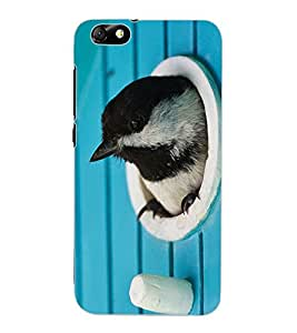 ColourCraft Lovely Bird Design Back Case Cover for HUAWEI HONOR 4X