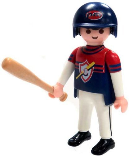 Playmobil Fi?ures Series 4 LOOSE Mini Figure Baseball Player by Series 1...