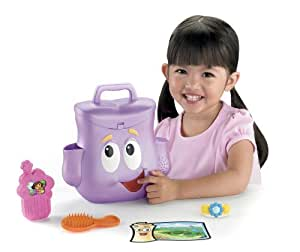 Fisher Price V2128 Fisher-Price Dora the Explorer Talking Day Adventure Backpack