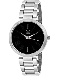 Fogg Analog Black Dial Women's Watch 4049-BK
