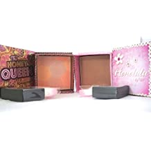 W7 The Honey Queen Honeycomb Blusher With Brush & W7 Honolulu Bronzer Blusher by W7