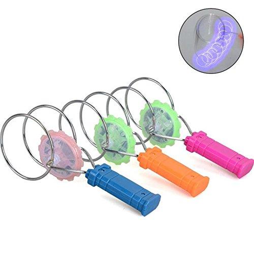 Kreativ Magnetische (Hosaire 1pcs Kinder Spielzeug Kreativ Magnetisches Dreh-Gyroskop Pädagogisches Spielzeug für Baby kind Geburtstag, Urlaub Geschenk(Farbe Random))