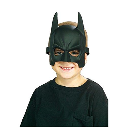 Batman Maske für Kinder als Kostüm Zubehör Faschingsmaske Karnevalsmaske Batmanmaske Fledermausmaske Maske ()