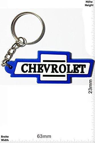 keychains-porte-cles-chevrolet-blue-white-car-usa-car-motorsport-key-ring-kautschuk-rrubber-keyring-