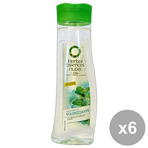 Set 6 HERBAL ESSENCE Shampoo Nude Volumizzante 250 Ml. Prodotti per capelli
