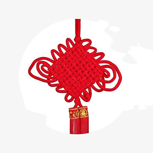 Cinesi Ciondolo nodo accessori benedizione Home parola ingresso soggiorno regalo di Capodanno Spostare nuovo regalo casa sposare regalo , c - 4 C Gemme Gioielli