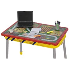 Mightymast Dribbling Plus Multigames Table – Yellow/Red