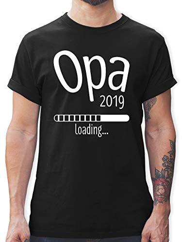 Opa - Opa 2019 Loading - M - Schwarz - L190 - Herren T-Shirt und Männer Tshirt - Kleinkind-t-shirt Klassiker