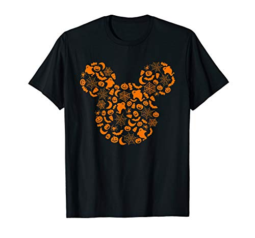 Disney Mickey Mouse Halloween Silhouette T-Shirt