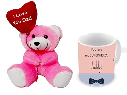 ME&You Gifts for Father, Birthday Gifts, Anniversary Gifts, Father's Day Gift Set- Teddy & Mug IZ18NJPTM-1839
